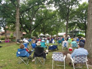 Bluegrass and Brass Summer Concert - POSTPONED (TBD) @ Broadview Mansion Lawn | Normal | Illinois | United States